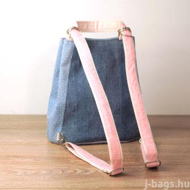 Cicás átalakítható hátizsák - farmer