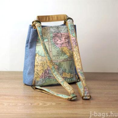 Marco Polo átalakítható táska - farmer