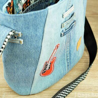 Memphis crossbody táska - gitáros farmer