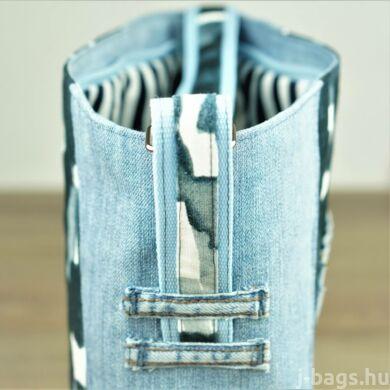 Kék farmer táska - J-Bags